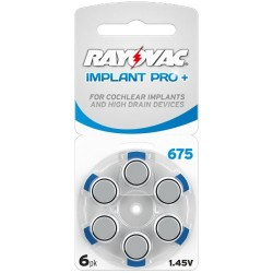Rayovac Cochlear Implant Plus mod. 675