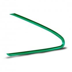 Tubicino Verde Piegato Classico