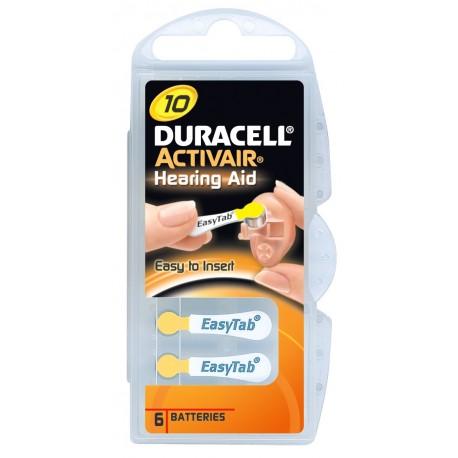 Pile Duracell Activair Mod. 10