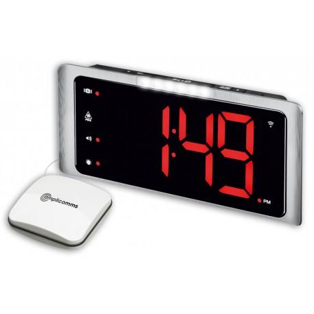 Sveglia Amplicomms TCL 400 con Vibrazione per sordi