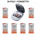 Kit Fornetto Asciugatura Rayovac Extra Advanced Misura 13 PR48 Colore Arancione