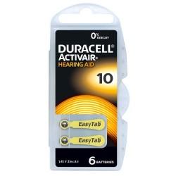 Pile Duracell Activair Misura 10 PR70 Colore Giallo